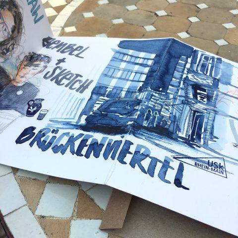 Anne Nilges Urban Sketching Storytelling