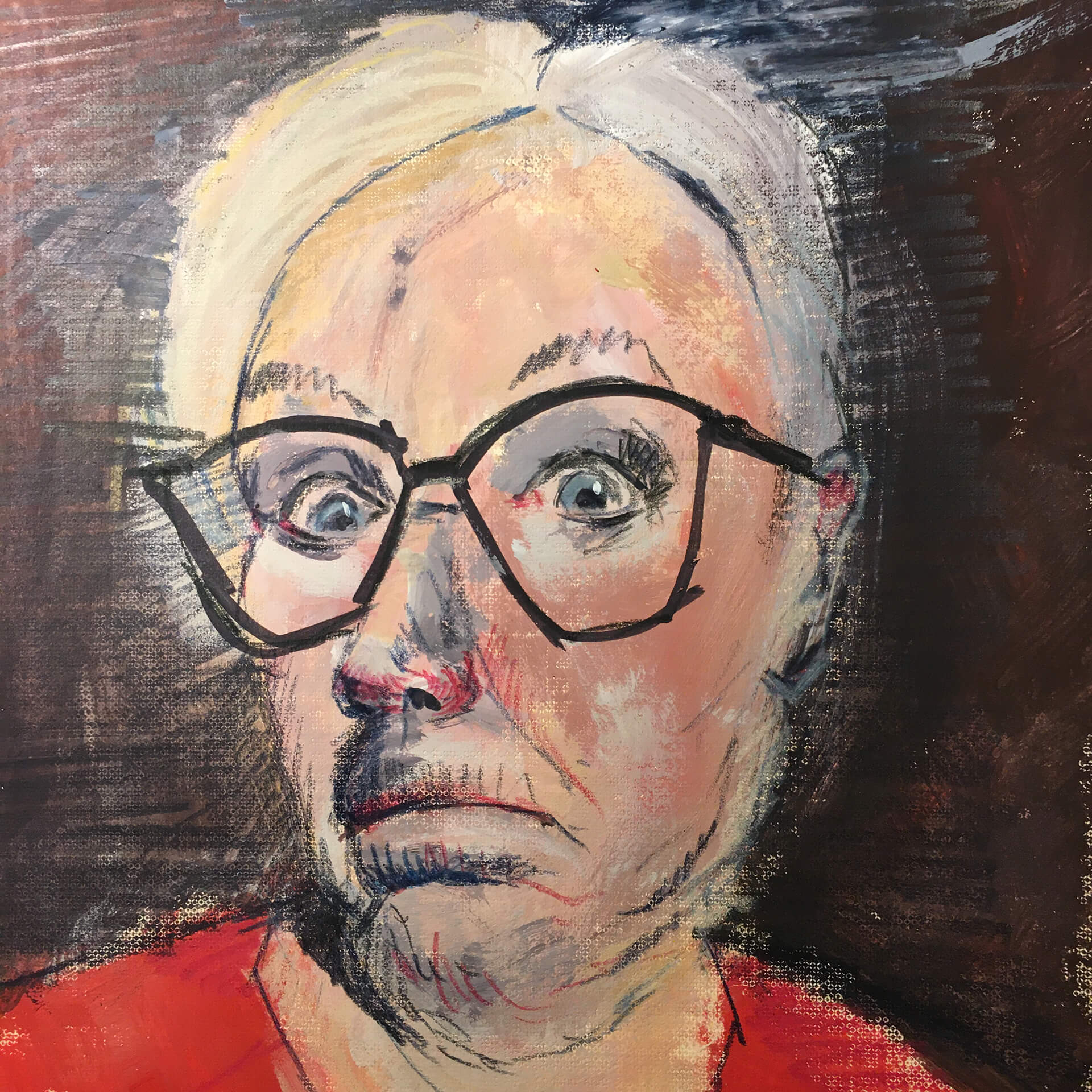 Anne Nilges Mainz Portrait Malerei und Zeichnung