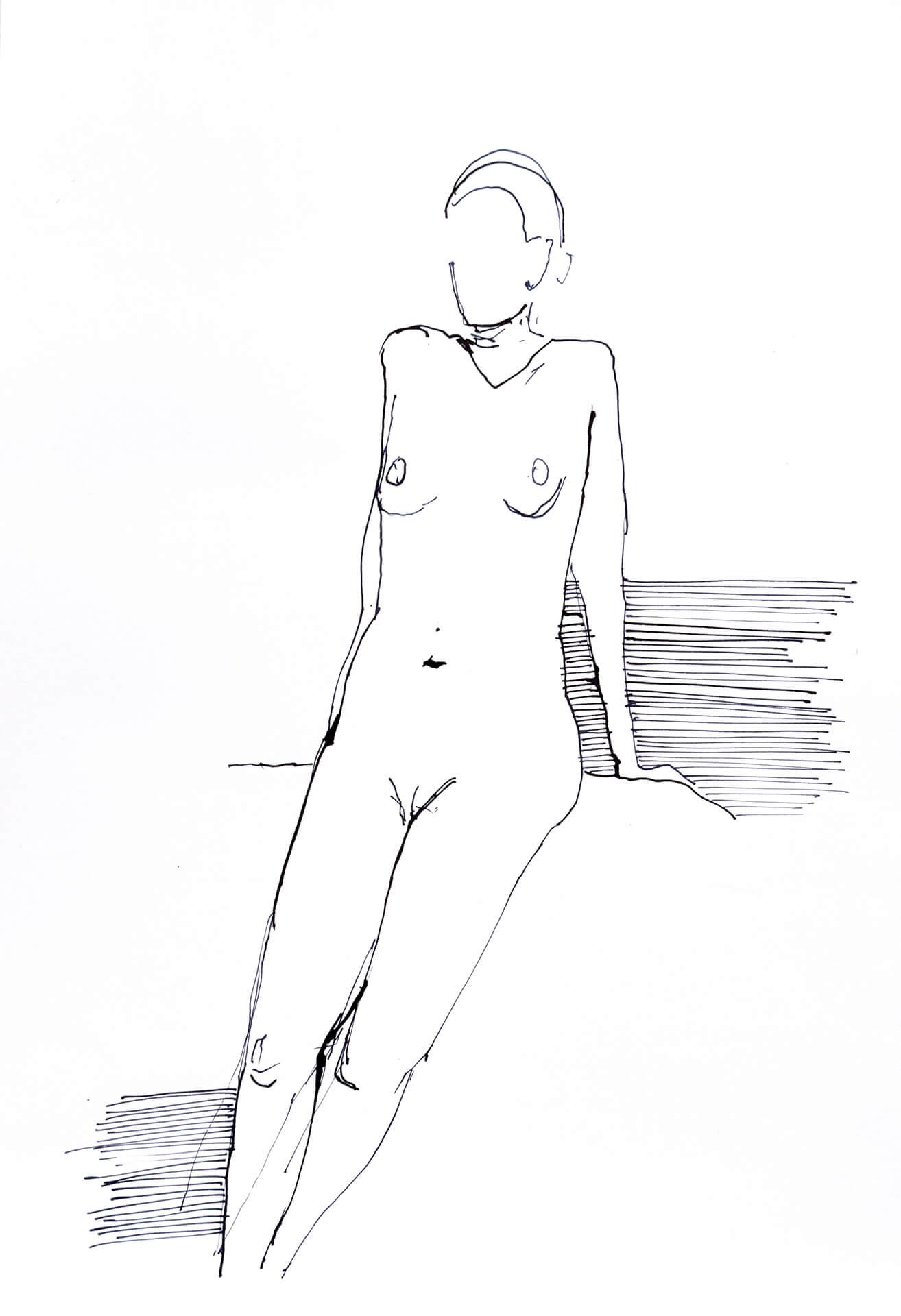 Anne Nilges Mainz Akt Malerei und Zeichnung