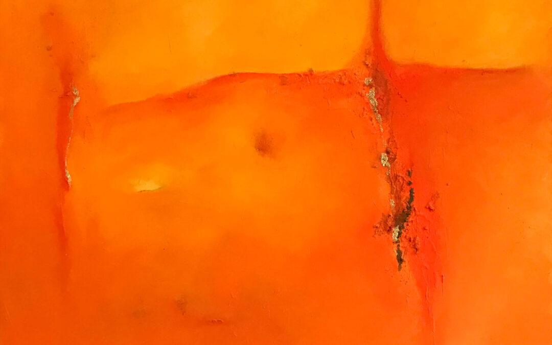 ohne Titel — orange 1