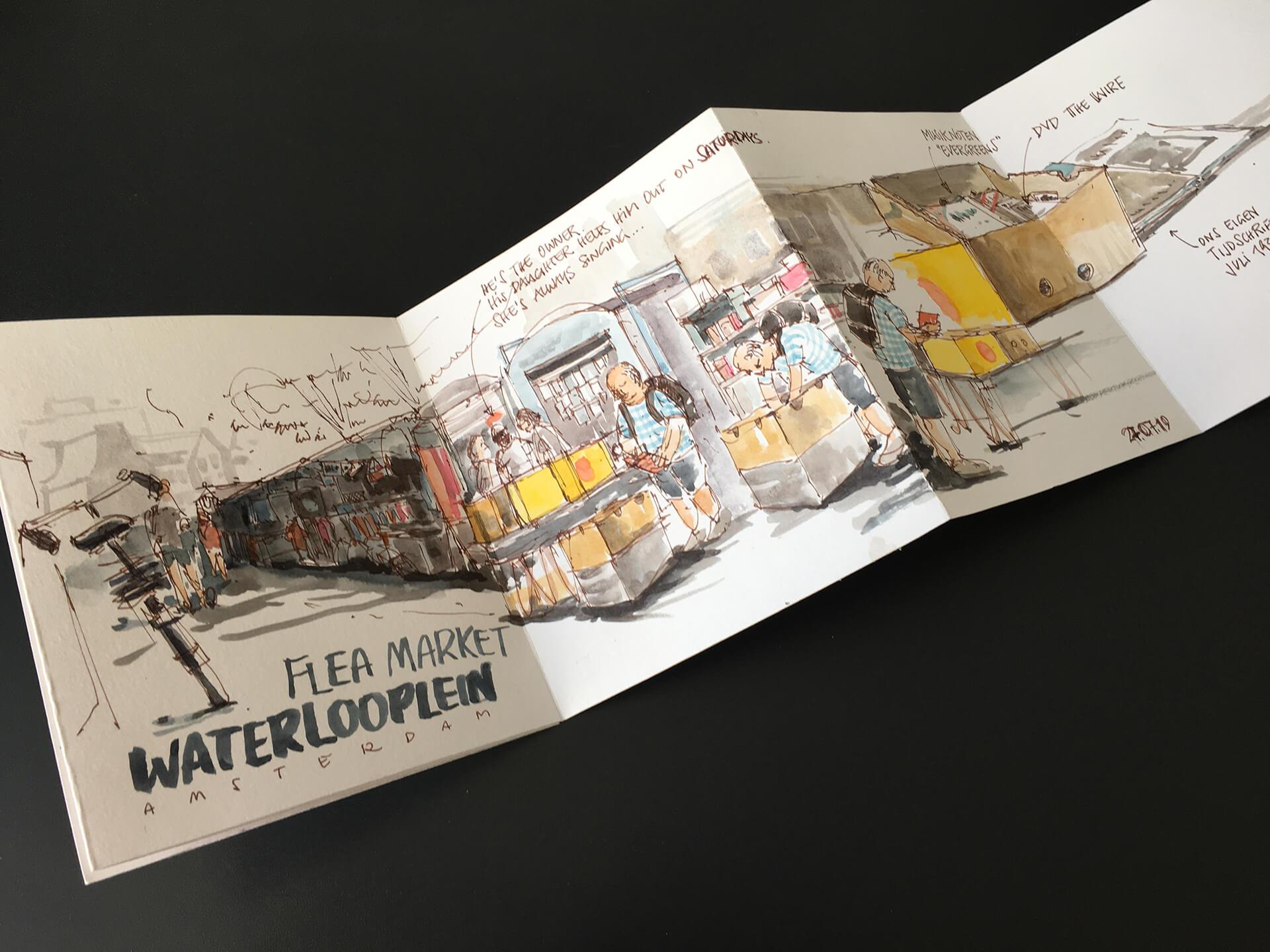 Flohmarkt Waterlooplein Amsterdam