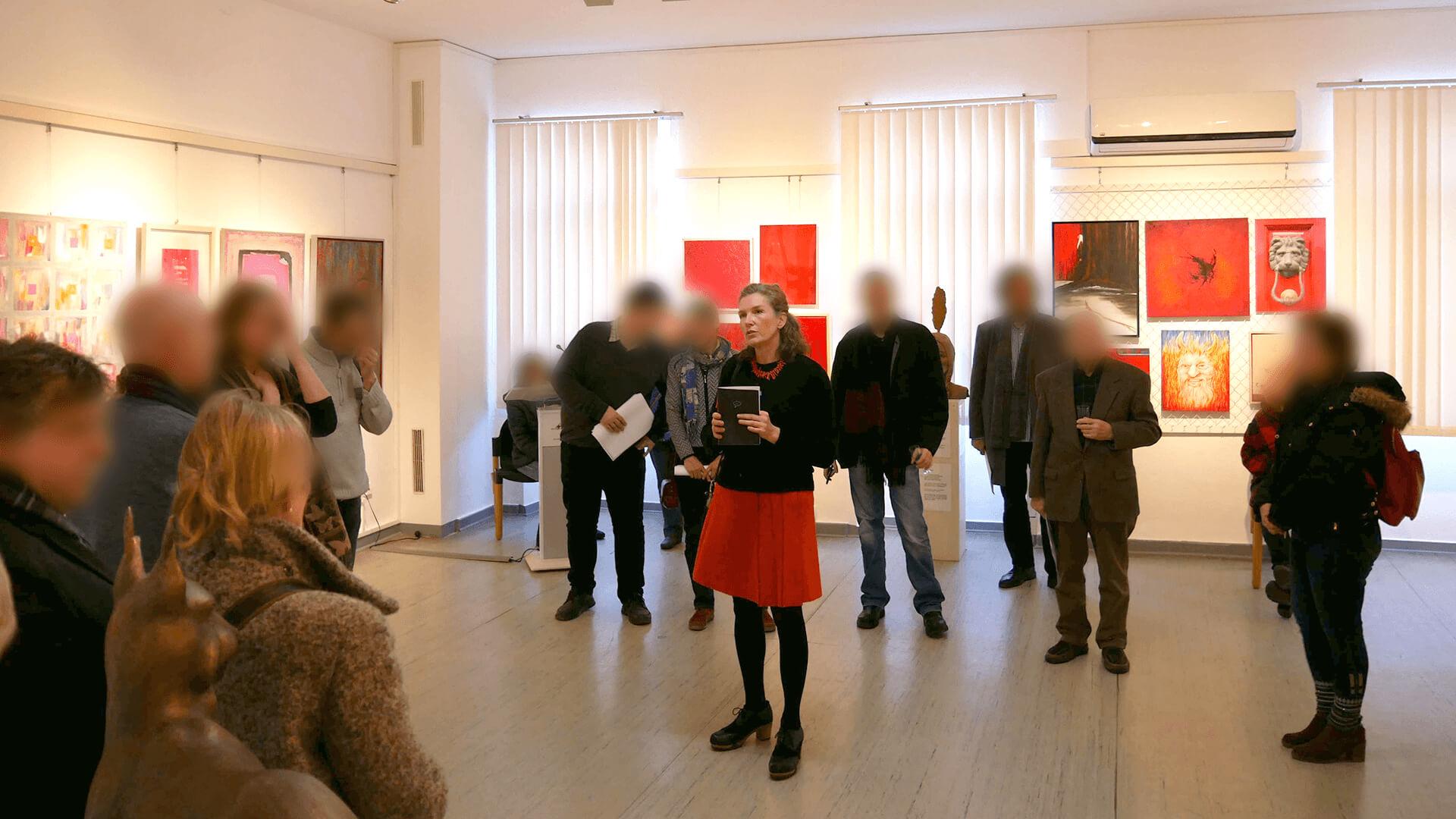 Anne Nilges Mainz Vortrag Planung von Kunstausstellungen