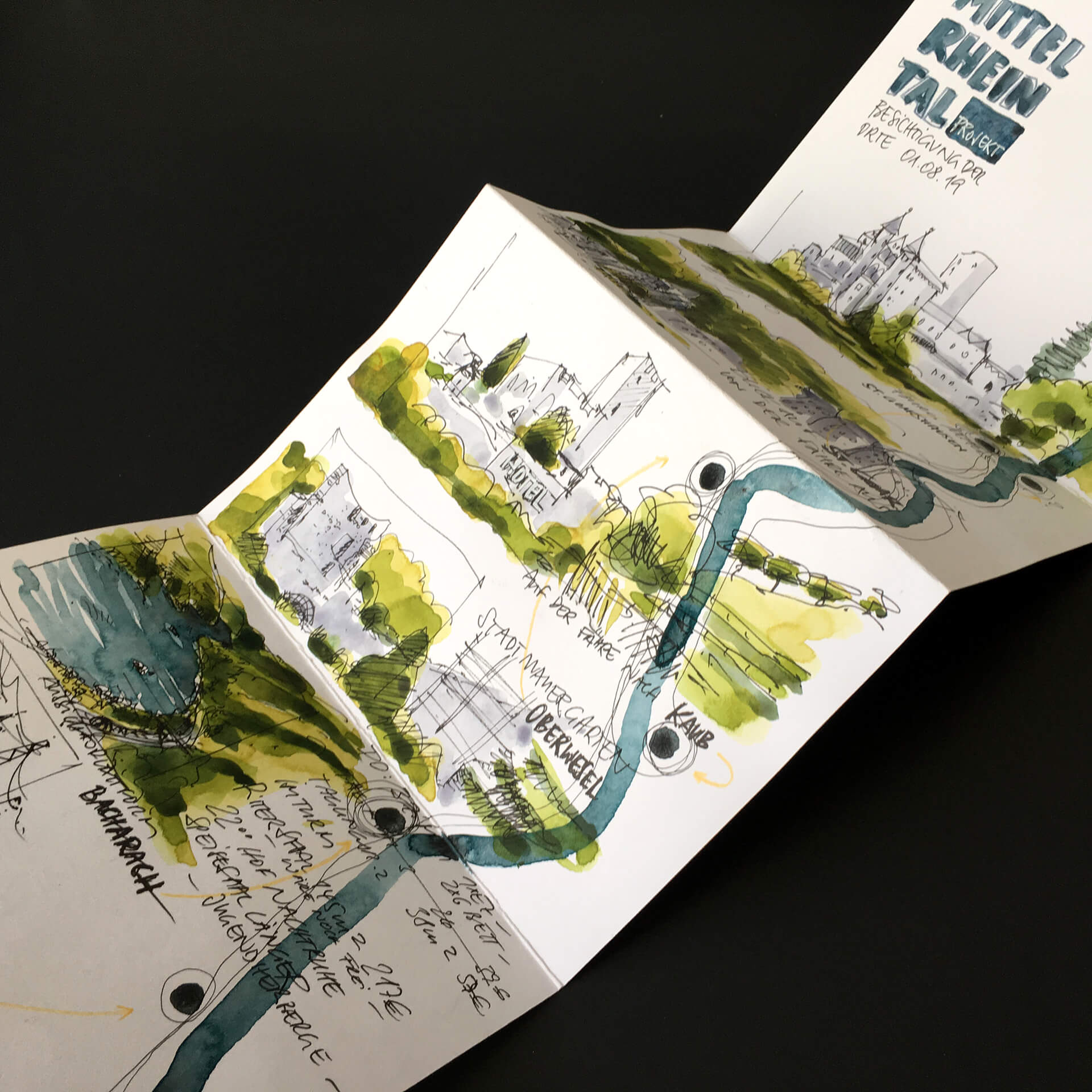 Konzeption Planung Ausstellungen Kunstevents Urban Sketching Storytelling