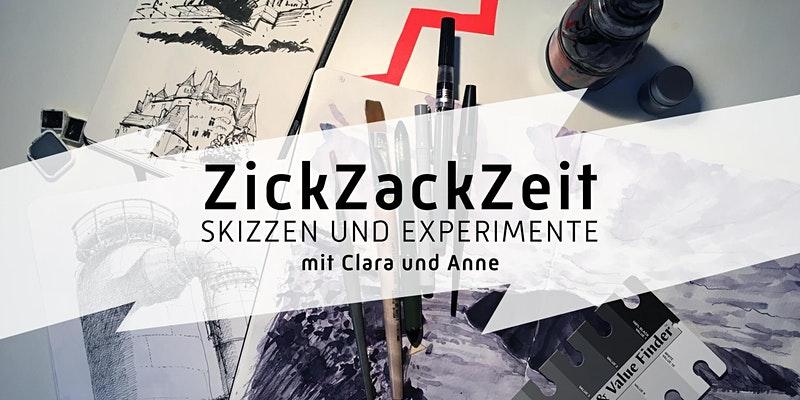 Experimente im Skizzenbuch / Urban Sketching Workshop im Januar